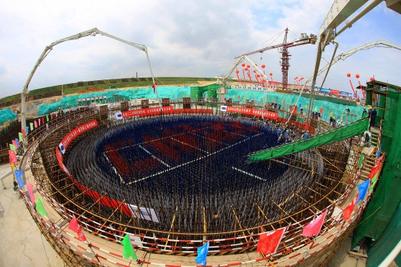 Innovative international collaborations and strategic government support, especially from countries with advanced technologies such as the United States, will be critical in bringing next generation nuclear designs to market and deploying them at scale. Developing countries like China, which announced last month that it would move ahead with plans for new nuclear power plants, are particularly keen on new reactor models. Above, construction of the Changjiang Nuclear Power Plant Phase II gets underway in southern China's Hainan province in April, 2010.