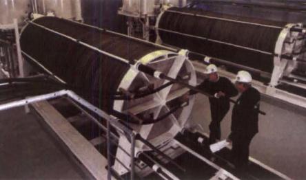 Figure 2.  Hydrogen Technologies 2 MW water electrolysis unit.