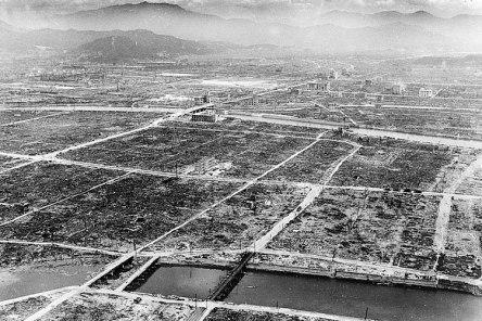 Hiroshima: nuclear explosion
