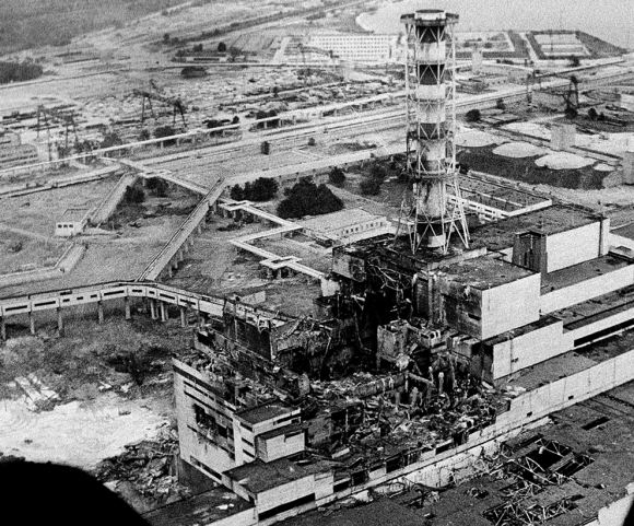 Chernobyl: steam explosion