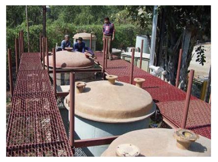 A pilot plant for the extraction of uranium from seawater under construction in India. (From Rao , 2010)